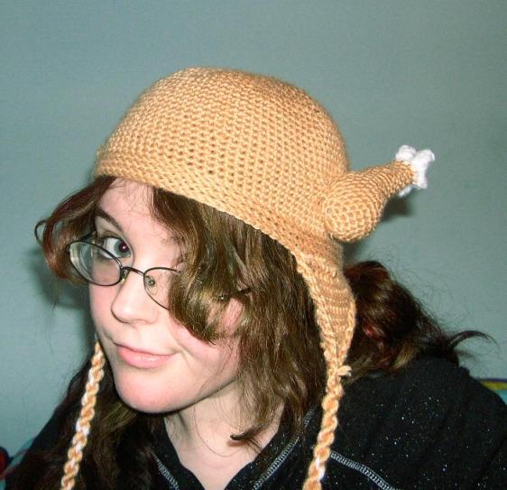 the chicken hat by punkie