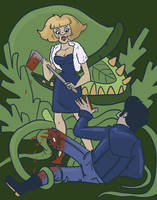 Little Shop Of Horrors AU by Girlie-Wilson
