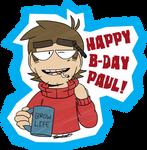 Happy B-day Paul!