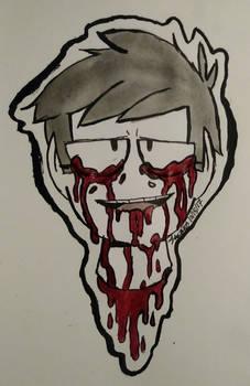Inktober and Eddtober (Day 13) - Teeming w/ Blood