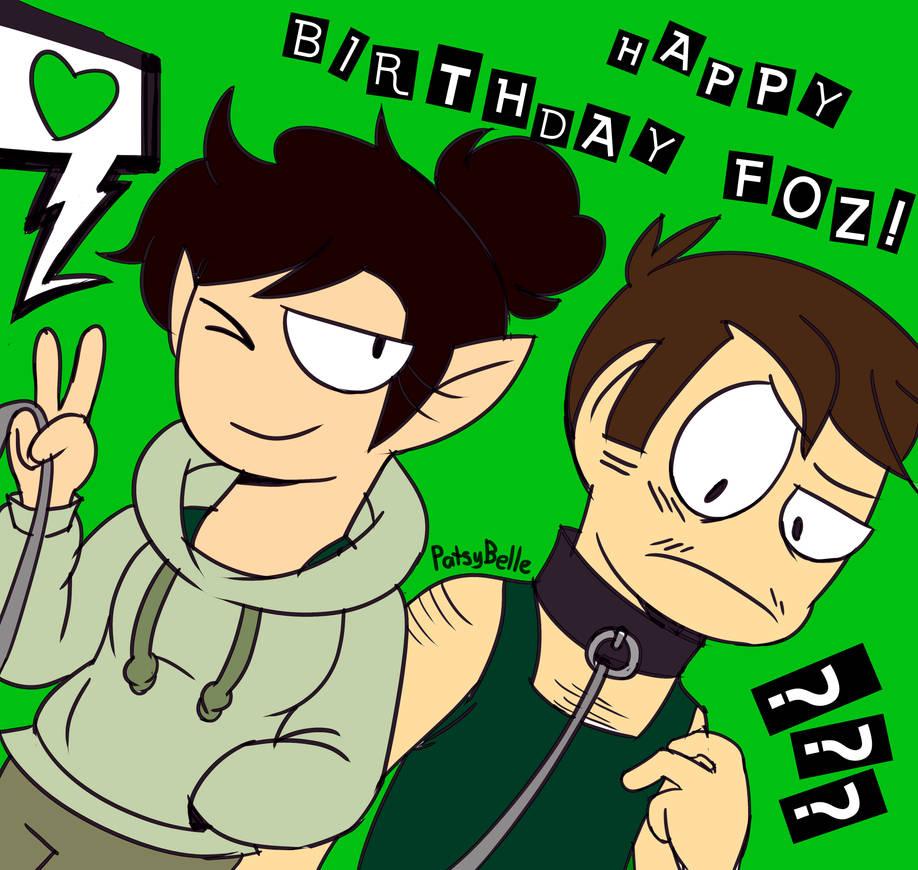 Happy B-day Foz! by PatsyBelle