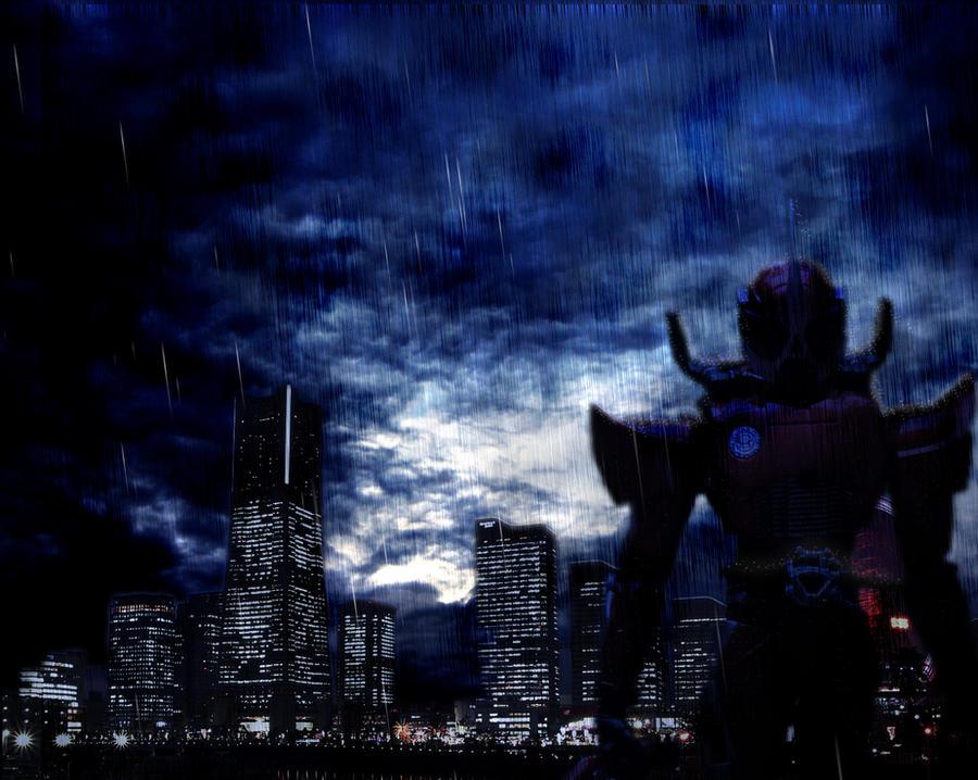 Accel Vengeance by bluebombermegaman