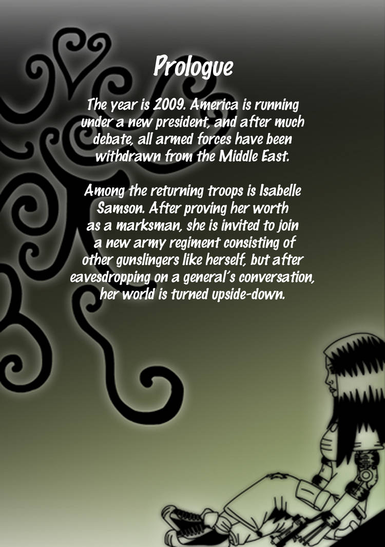 Prologue back cover