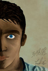 Self Portrait - Speed Paint by Psychemax