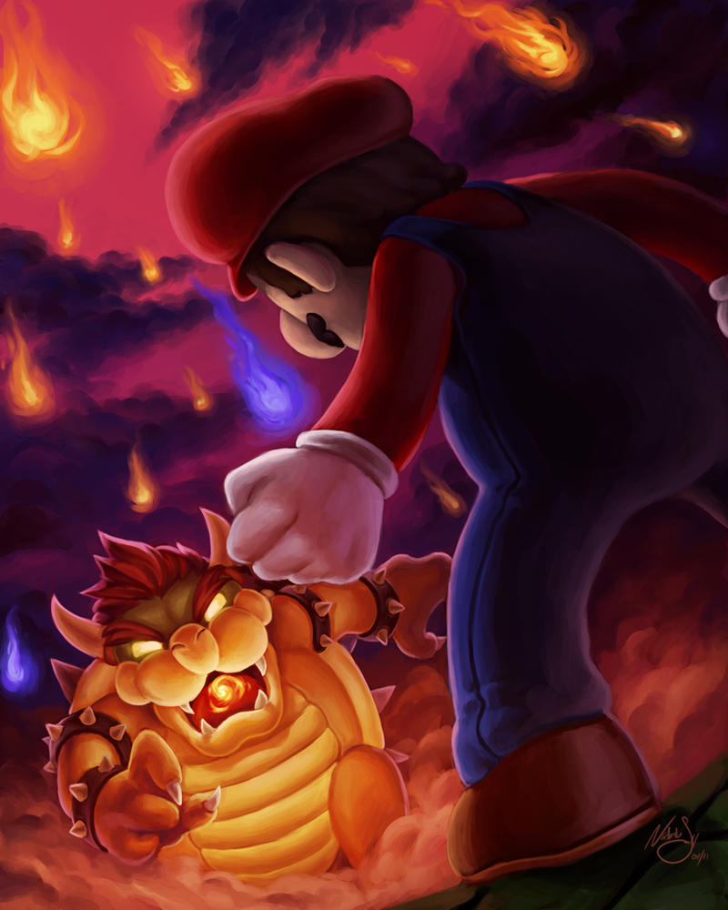 King Koopa by NatSmall