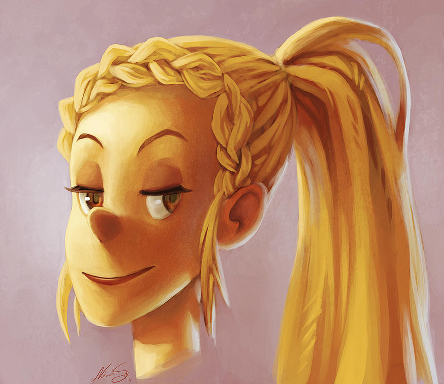 Lumberjack Girl by NatSmall