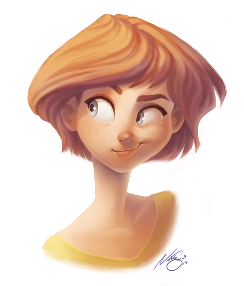 Smirk by NatSmall