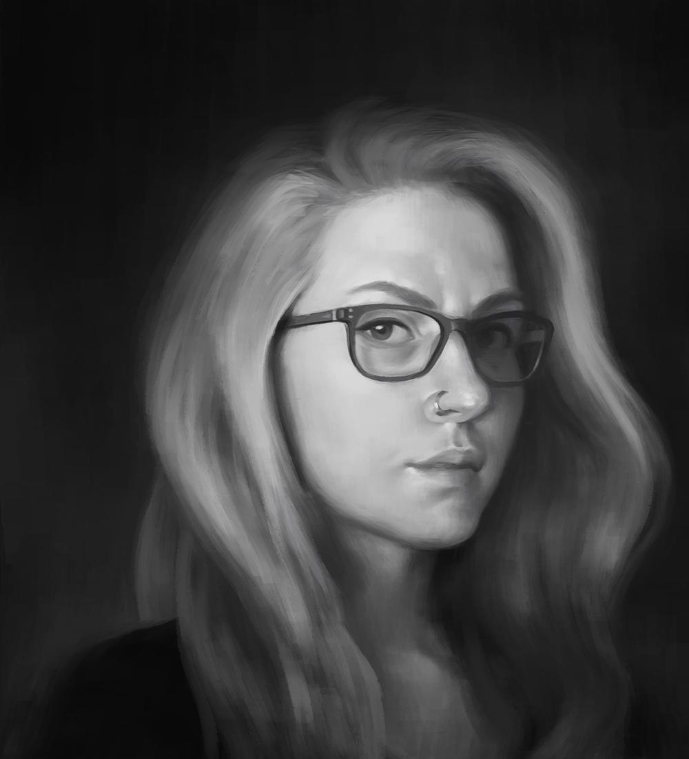 Self Portrait by NatSmall