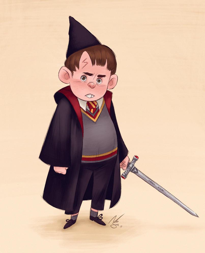 Neville Longbottom by NatSmall