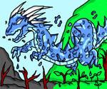 Water Spirit Dragon : contest by VegaAltair