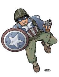 Capt. America by moonbase1