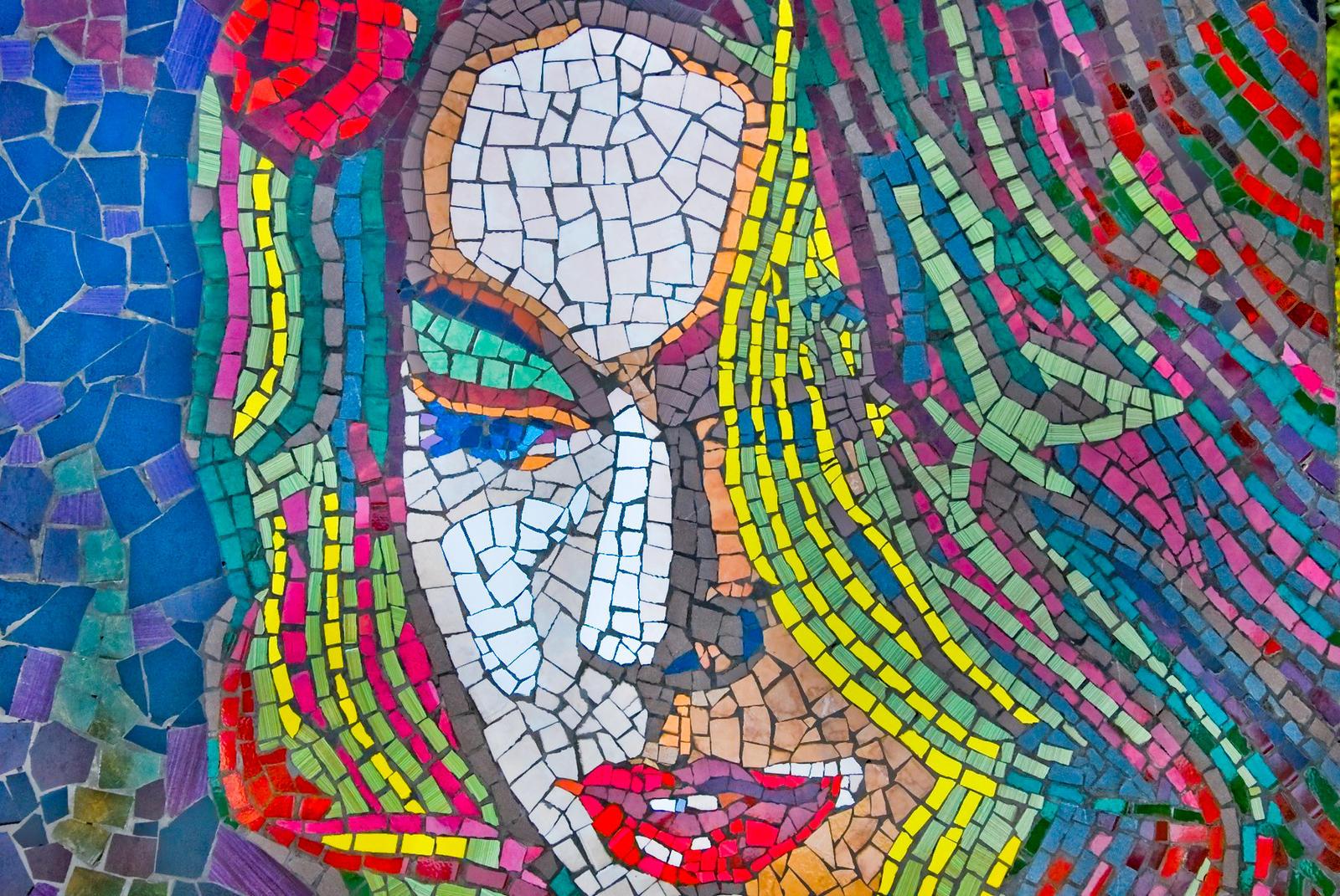 Mosaic girl by lalylaura on DeviantArt