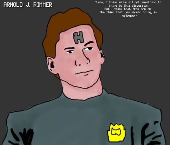 Arnold J Rimmer by coachphillips