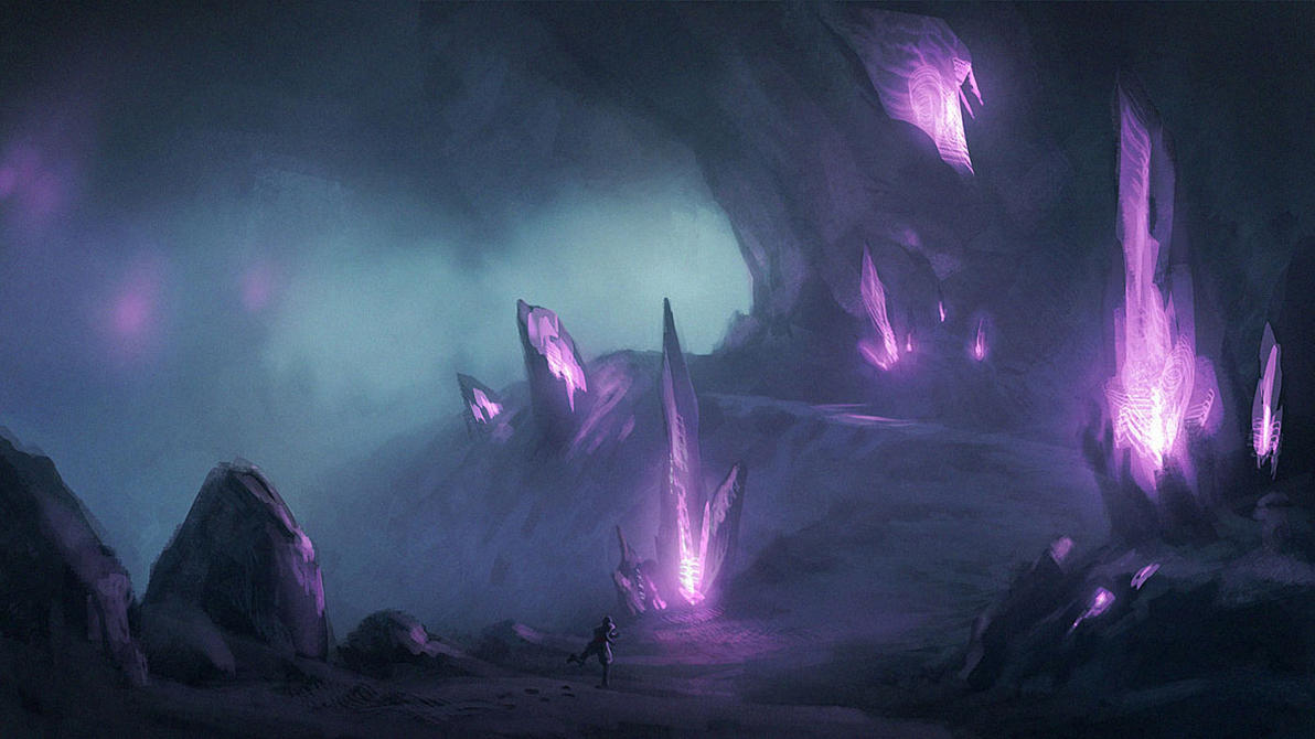 Ice Caverns by Justinoaksford