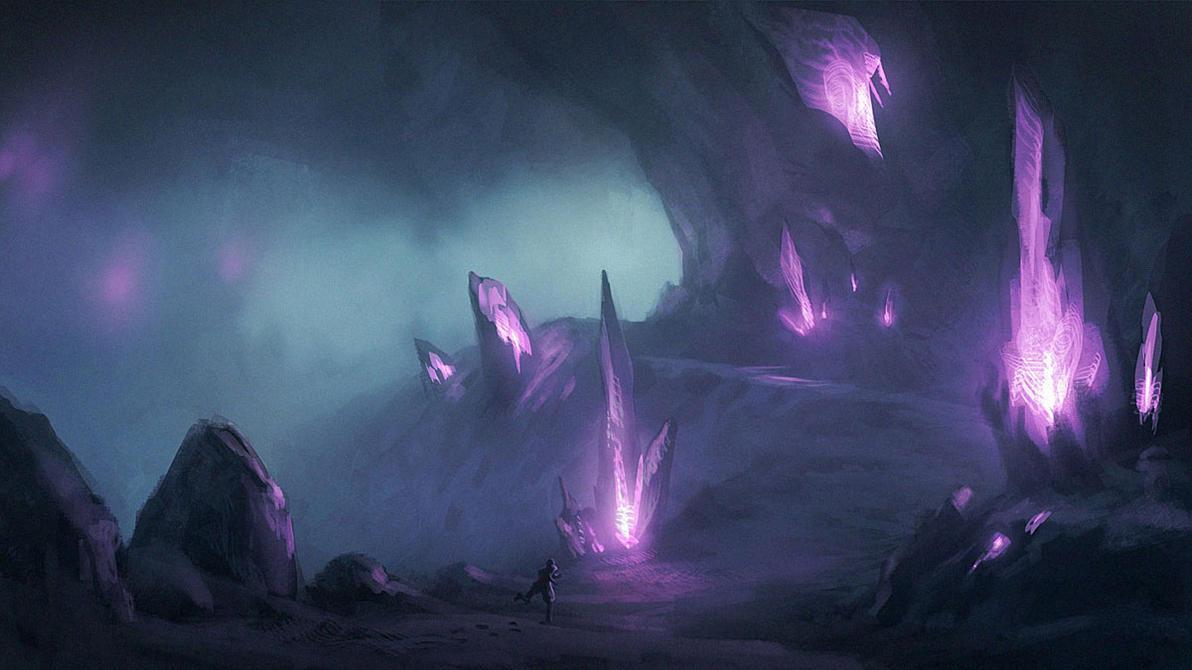 Ice Caverns by Justinoaksford