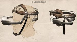 Mirror helmet by Justinoaksford