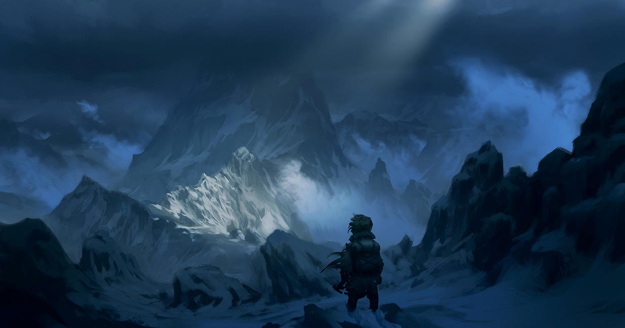 Great Wallpaper Mountain Art - far_over_the_misty_mountains_cold_by_justinoaksford-d5nyy4c  Graphic_74421.jpg