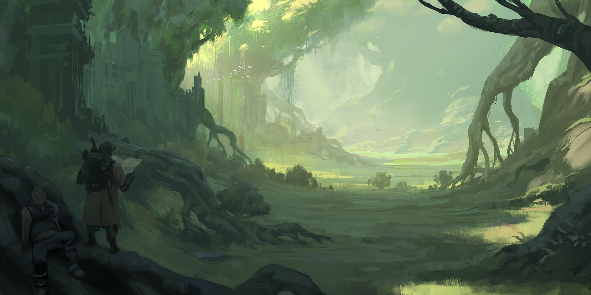 Valley of Roots by Justinoaksford