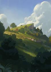 Hilltop by Justinoaksford
