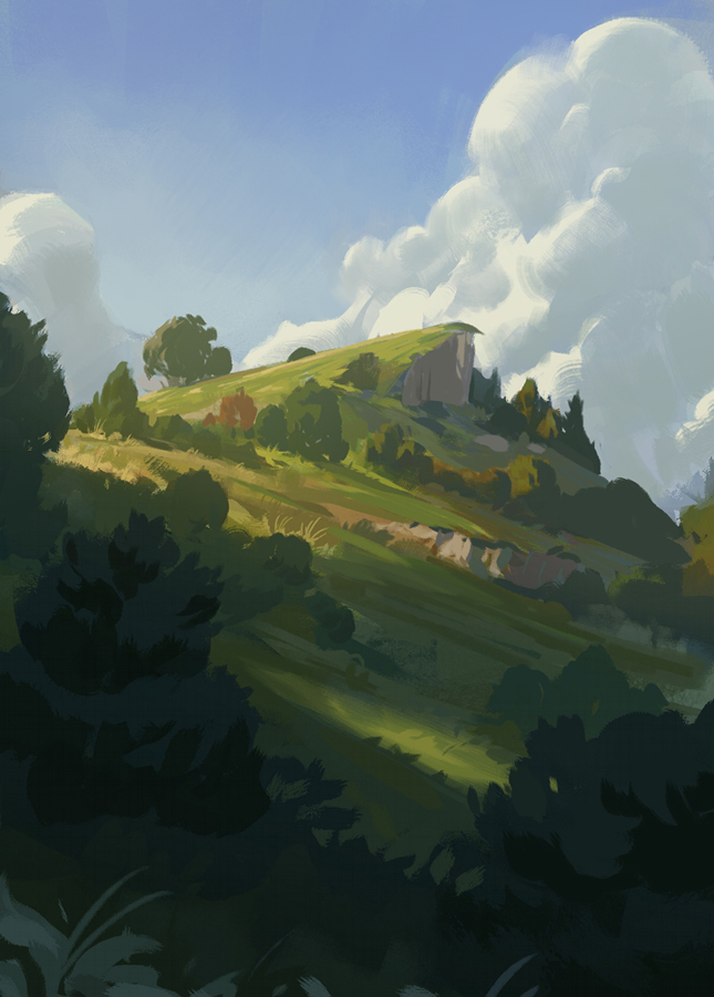 Hilltop by Justinoaksford