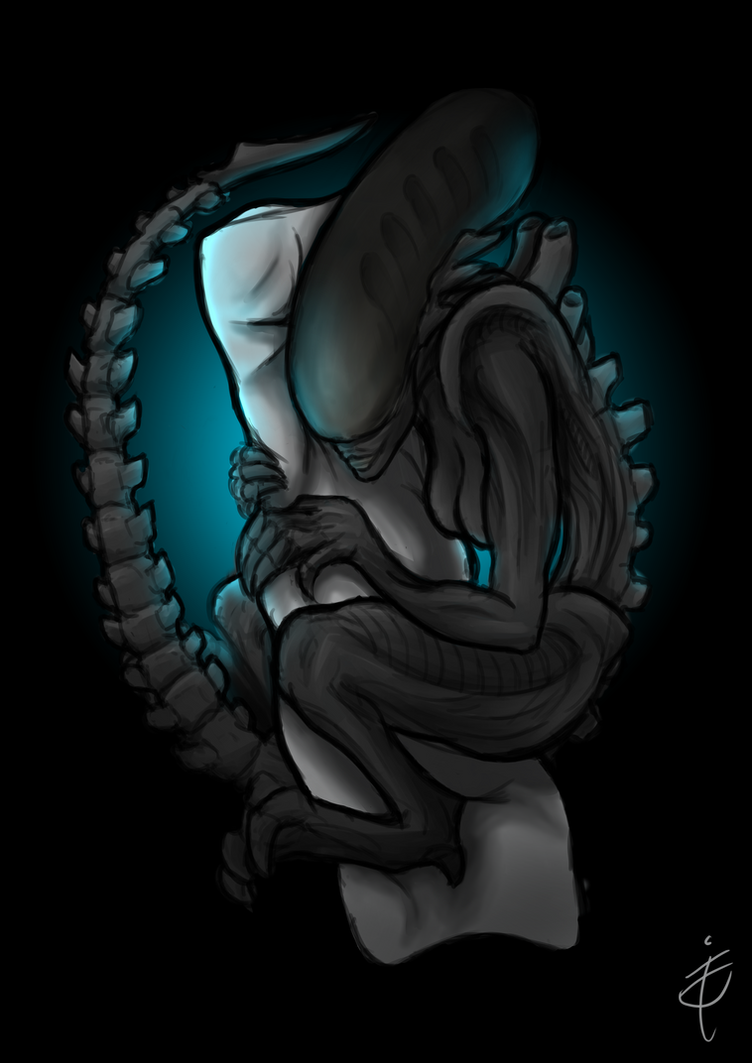 Do you dare to cuddle a xenomorph? by aGentleGiant