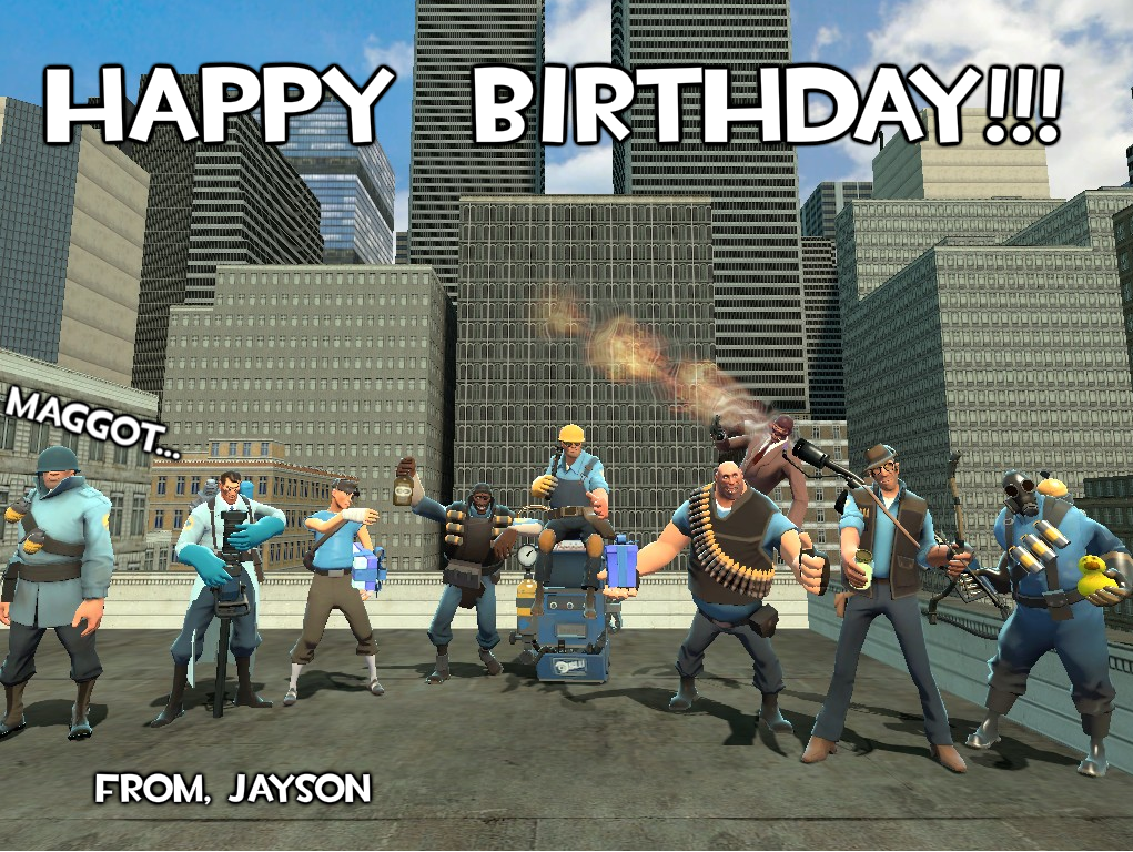 Gmod Birthday Card by bugs92 on DeviantArt – Tf2 Birthday Card