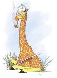 Safari Giraffe by Bulun