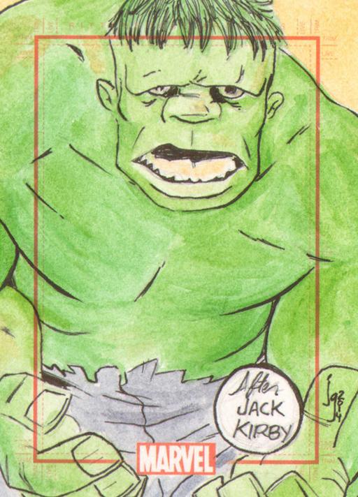 Hulk by Bulun