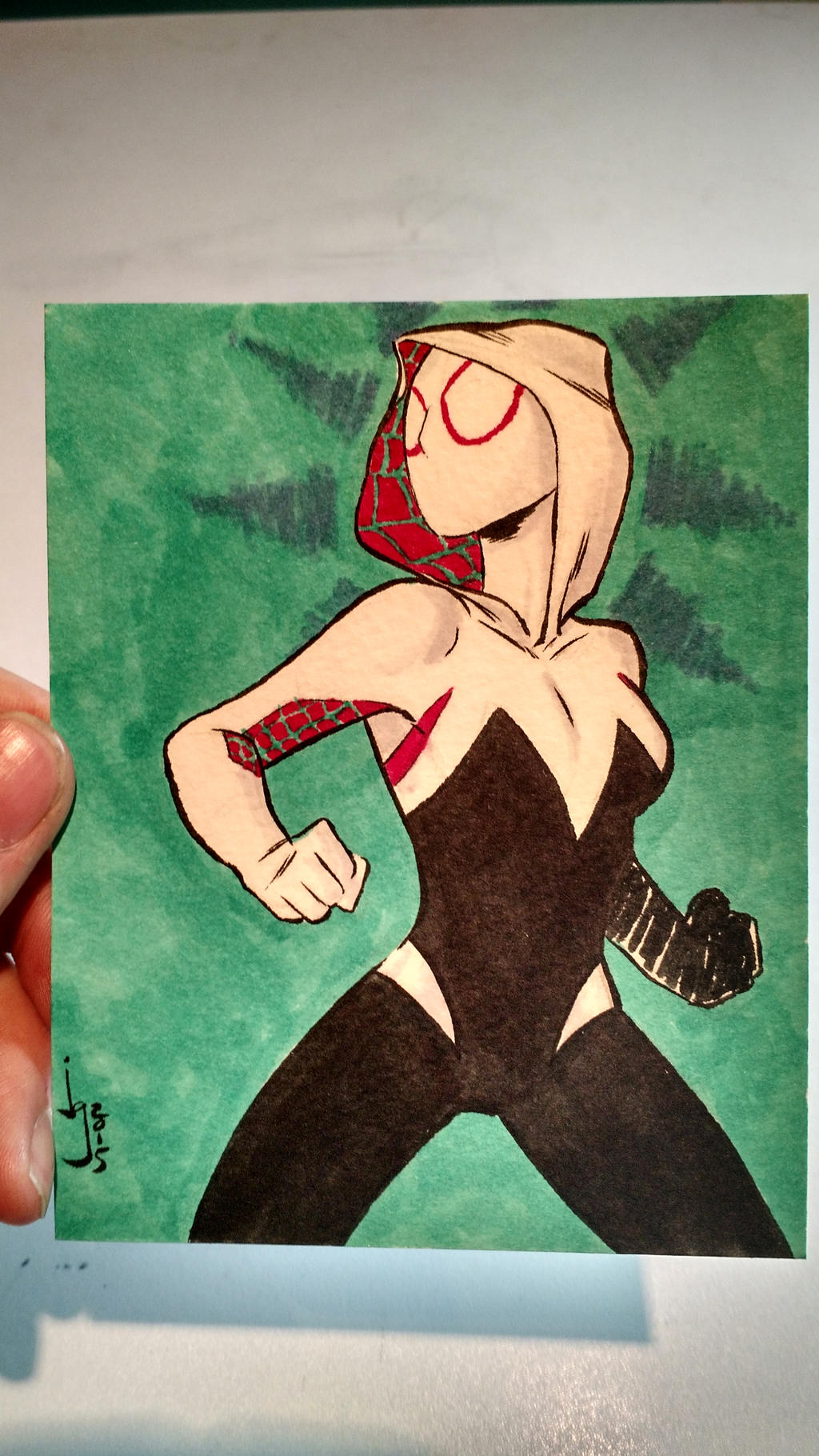 Spider-Gwen by Bulun