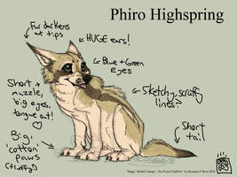Phiro Puppy Model Concept by Falcolf