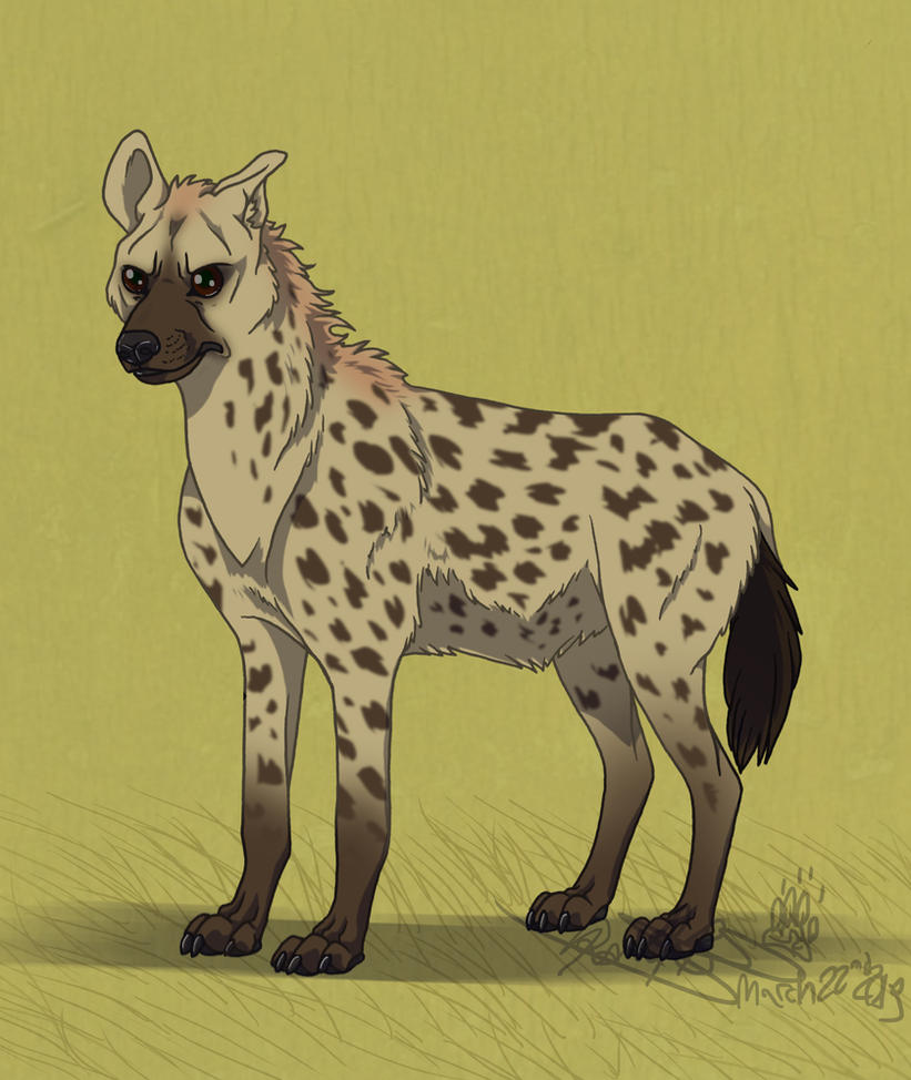 A Spotted Hyena for WilsontheElk by Falcolf on DeviantArt