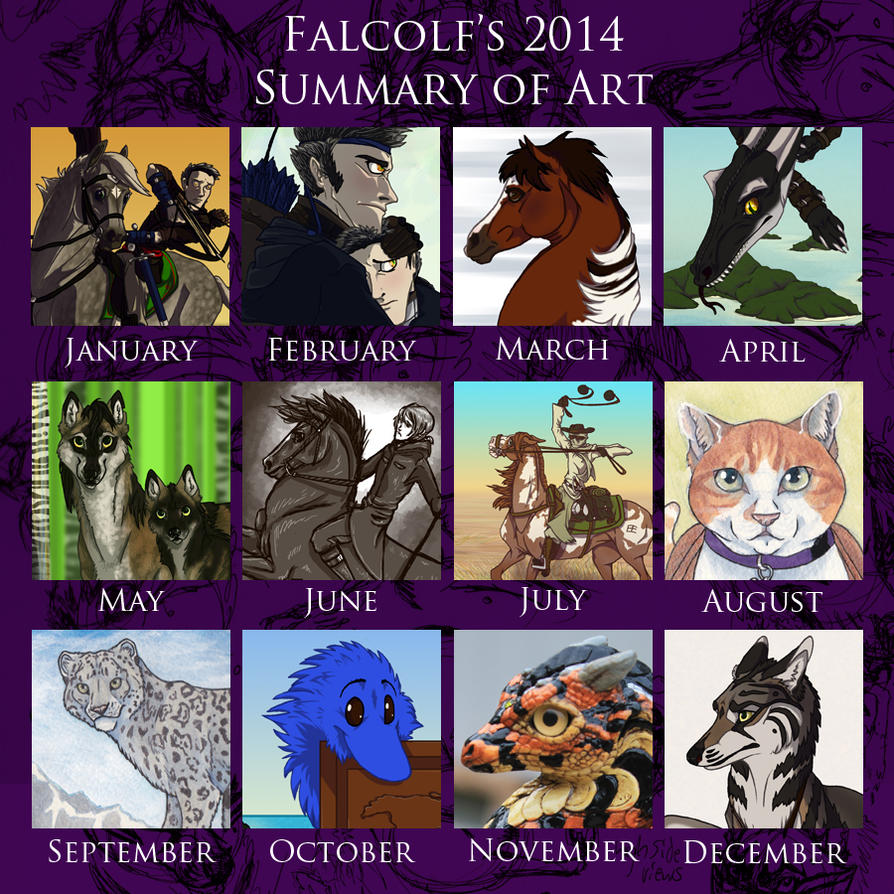 2013 Summary of Art by Falcolf