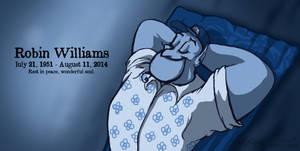 Robin Williams by Falcolf