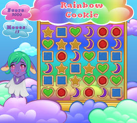 Rainbow Cookie Game Project