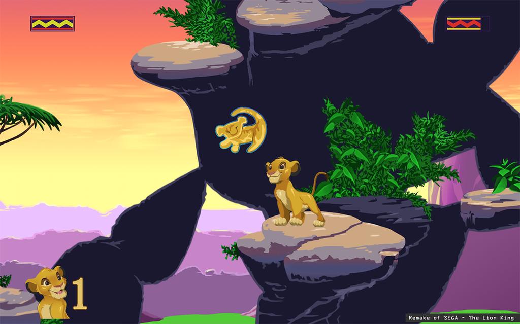Sega Lion King - Remake by Naderia