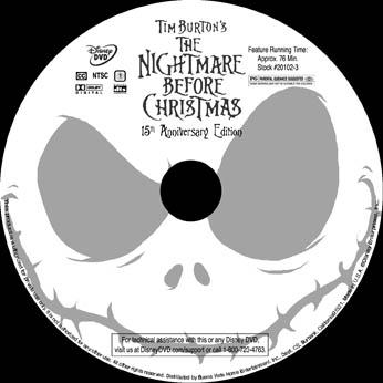 Nightmare Before Christmas DVD by MichaelMayne