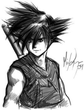 It's Goku...