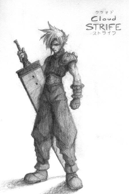 Cloud Strife by MichaelMayne