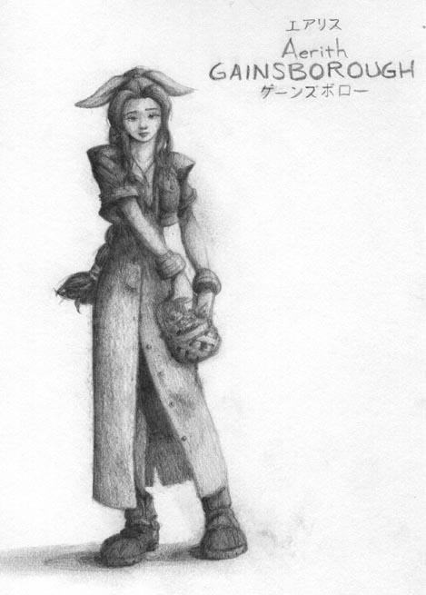 Aerith Gainsborough by MichaelMayne
