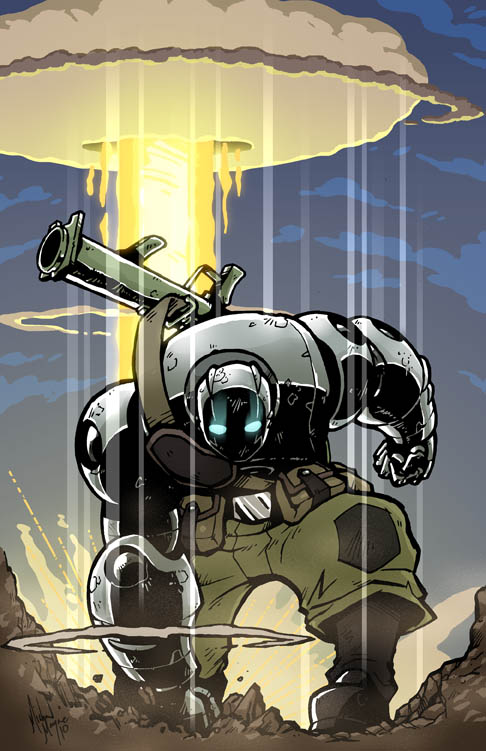10 Atomic Robo HD Wallpapers | Backgrounds - Wallpaper Abyss