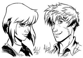 Kaylee and Hal by MichaelMayne
