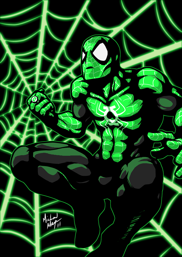 SKRATCHJAMS Spidey-Lantern by MichaelMayne
