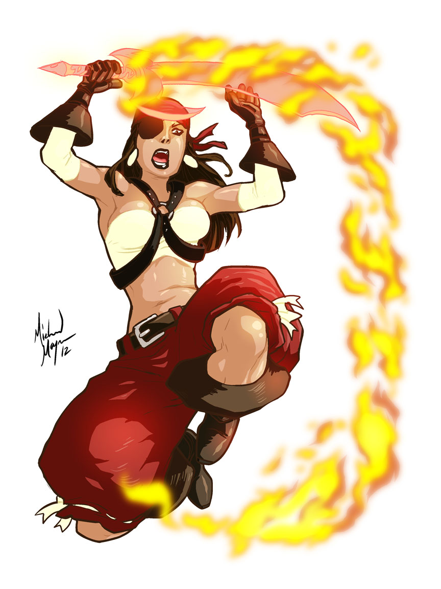 Commission: Morgana Fuego by MichaelMayne