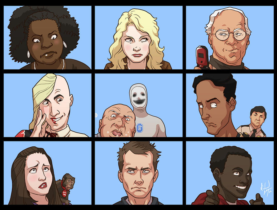 Community - The Greendale Bunch by MichaelMayne