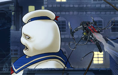 Attack on Stay-Puft