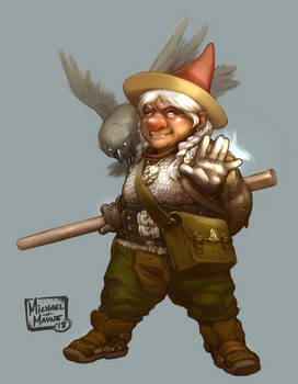 Gnome Wizard, F'lolio HoomHoffer