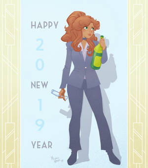 Happy New Year 2019 from Bonnie