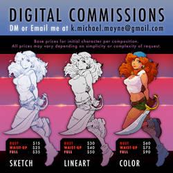 Digital Commissions