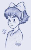 Kiki sketch by MichaelMayne