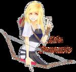 :IH: Leia, Kyudo Cover Girl